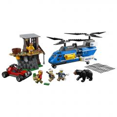 LEGO® City Police Arest pe munte 60173