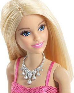 Papusa Mattel Barbie cu rochie roz