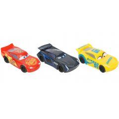 Set masinute Disney cu radiera Cars