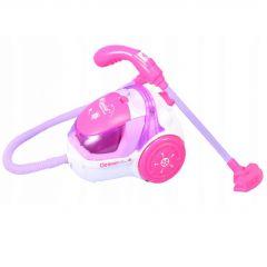 Jucarie interactiva Malplay Mini Aspirator pentru copii roz 15 cm