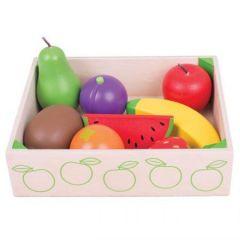 Cutiuta cu fructe din lemn BigJigs