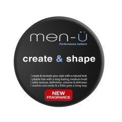 Pasta modelare par cu efect natural Create and Shape Men-U 100 ml