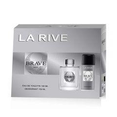 Set cadou La Rive Brave Man parfum si deodorant