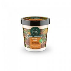 Scrub de corp Organic Shop Body Desserts Almond&Honey Milk 450 ml