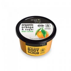 Scrub de corp Organic Shop Sicilian Orange 250 ml