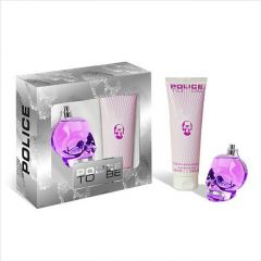 Set Police To be Woman parfum + lotiune de corp