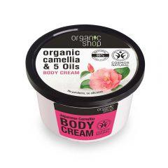 Crema de corp Organic Shop Japanese Camellia 250 ml