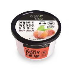 Crema de corp Organic Shop Pink Lychee 250 ml