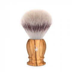 Pamatuf cu par de bursuc Silvertip Fibre si maner din lemn de maslin Muehle Classic 31 H 250