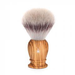 Pamatuf cu par de bursuc Silvertip Fibre si maner din lemn de maslin Muehle Classic 33 H 250