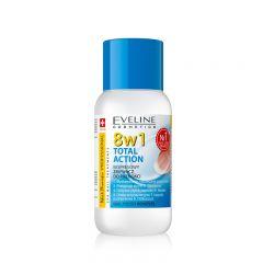 Dizolvant fara acetona pentru lac de unghii Eveline Therapy Professional 150 ml
