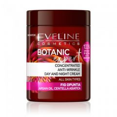 Crema de zi si noapte concentrata anti rid Eveline Botanic Expert Fig Opuntia 100 ml