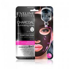 Masca de fata Eveline Korean Charcoal Deeply