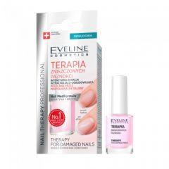 Tratament pentru unghii deteriorate Eveline Nail Therapy 12 ml