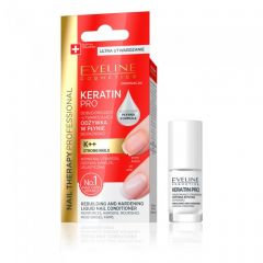Tratament serum refacere si intarire unghii Eveline Nail Therapy Keratin Pro 5 ml
