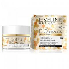 Crema lifting de zi si noapte Eveline Bio Manuka 50+ 50 ml
