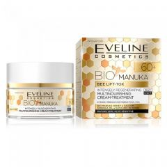 Crema lifting de zi si noapte Eveline Bio Manuka 60+ 50 ml