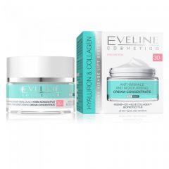 Crema anti rid de zi si noapte Eveline Hyaluron Collagen 30+ 50 ml