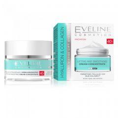Crema lifting de zi si noapte Eveline Hyaluron Collagen 40+ 50 ml