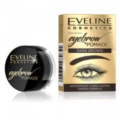 Pomada pentru sprancene Eveline Eyebrow Pomade Dark Brown