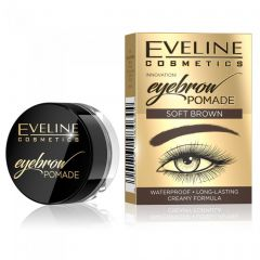 Pomada pentru sprancene Eveline Eyebrow Pomade Soft Brown