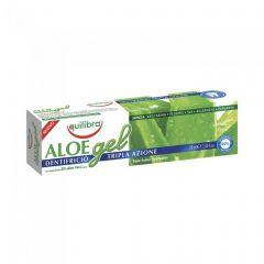 Pasta de dinti cu Aloe cu tripla actiune Equilibra 75 ml