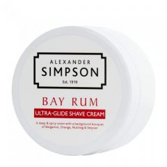 Crema de barbierit Simpson Bay Rum 180 ml