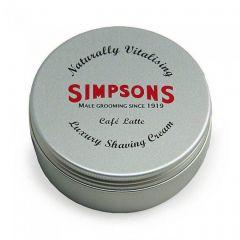Crema de barbierit Simpson Luxury Cafe Latte 125 ml