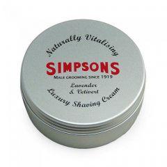 Crema de barbierit Simpson Luxury Lavender & Vetiver 125 ml