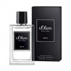 Parfum S. Oliver Black Label Men edt 30 ml