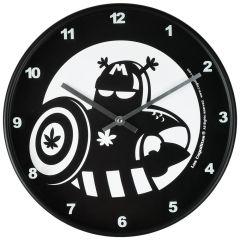 Ceas de perete rotund, model Los Cogollitos, d 29 cm, ceas decorativ de perete, negru