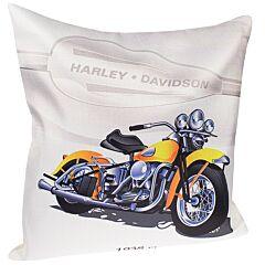 Fata de perna decorativa, model Harley, multicolor, 43 x 43 cm