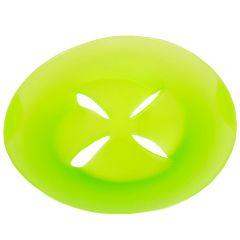 Capac universal pentru gatit la aburi si colectare spuma, silicon, protejare incalzire la microunde, Lifetime Cooking, 27 cm, verde