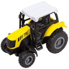 Macheta auto de colectie, Tractor 350, Minimodel Metal - Plastic, galben, Scara 1:43