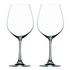Set 2 pahare cristal pentru vin alb/rosu/roze/cocktail, 520 ml, Plus, cu picior, transparent, cutie cadou