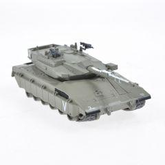 Macheta militara de colectie, masina de razboi minimodel Tanc Merkava MK3, Eaglemoss, Kaki, Scara 1:72
