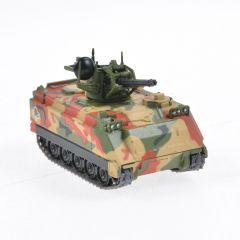 Macheta militara de colectie, masina de razboi minimodel Blindat Antiaerian M163 Vulcan (VADS), Eaglemoss, camuflaj, Scara 1:72