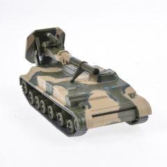 Macheta militara de colectie, masina de razboi minimodel Mortier autopropulsat 2S4 Tyulpan, Eaglemoss, camuflaj, Scara 1:72