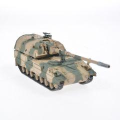 Macheta militara de colectie, masina de razboi minimodel Tanc Panzerhaubitze 2000, Eaglemoss, camuflaj, Scara 1:72