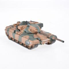 Macheta militara de colectie, masina de razboi minimodel Tanc Chieftain MK5, Eaglemoss, camuflaj, Scara 1:72