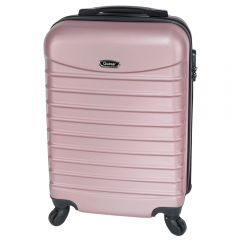Troler cabina, Model Compatible Air, Quasar, roz pudra, 55 x 36 x 20 cm