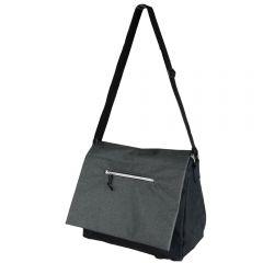 Geanta cu compartiment izoterm, 19 litri, geanta casual/smart casual pentru birou/calatorii, cu burduf, Quasar