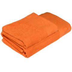 Set 2 prosoape, Rituals, 1-30 x 50 cm, 1-50 x 100 cm, 500 gr/mp, 100% bumbac, portocaliu