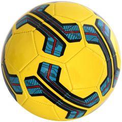 Minge de fotbal marimea nr. 5, Quasar, galben-albastru