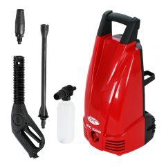 Aparat de spalat cu presiune, IP Cleaning, model 1000, 1600W, 120 bar max, furtun lance 5 m, 360 l/h, fabricat in Italia, rosu