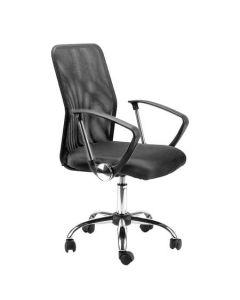 Scaun de birou ergonomic, Atelier Krane, mesh, negru