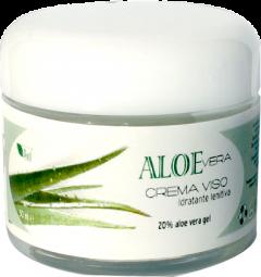 Crema hidratanta de fata cu 20% gel de Aloe Vera  La Dispensa  50 ml