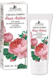 Crema regeneranta de corp cu ulei de Rosa Mosqueta  Rosa Antica - La Dispensa  200 ml