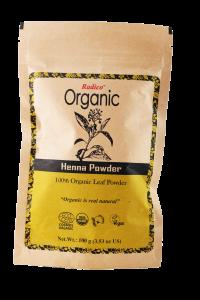 Henna Pudra 100% ecologica  Radico 100g