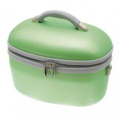 Geanta ABS pentru cosmetice 36 cm Davidt's verde